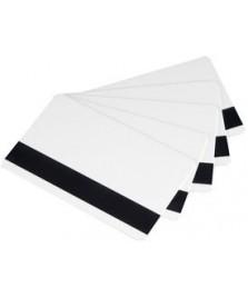 Carte plastiche bianche magnetiche