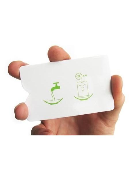 Carte plastiche bianche
