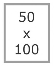 Cornici Mara 50x100