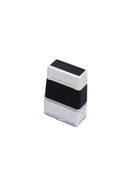 Timbro completo nero 40x90mm