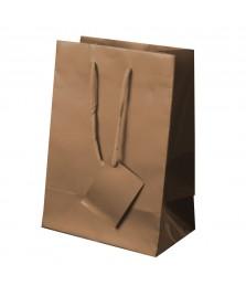 Borsa regalo in carta plastificata 30x22x11