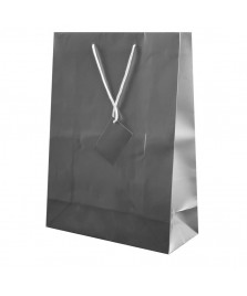 Borsa regalo in carta plastificata 30x22x11