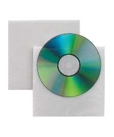 Tasca porta cd adesiva trasparente
