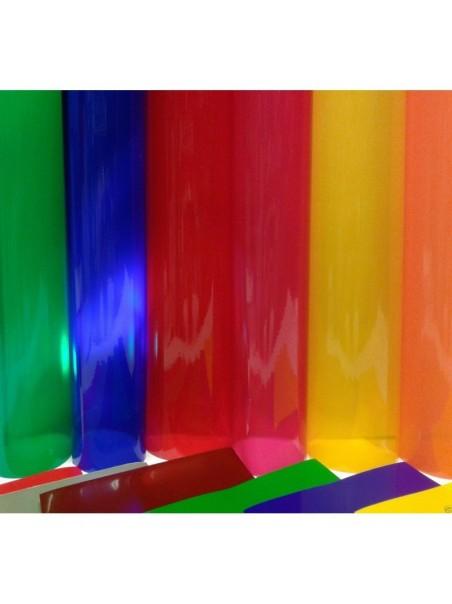VINILE Colorato TRASPARENTE ALTEZZA 61 cm