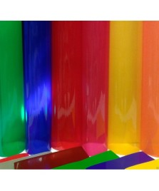 VINILE Colorato TRASPARENTE ALTEZZA 122 cm