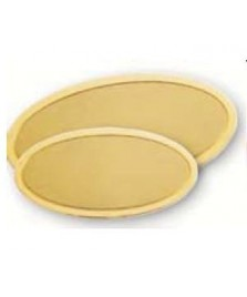 Targhe in ottone ovali per esterno