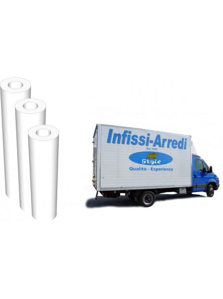 Vinile bianco polimerico coprente Airflow