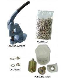 Occhiellatrice autoperforante e accessori