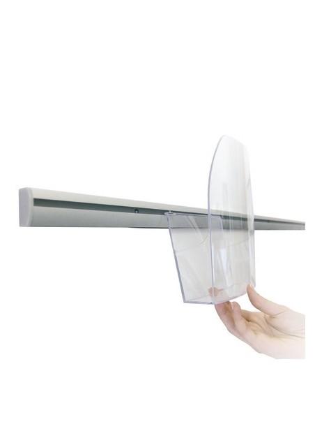 Tasche portadepliant trasparente in vari formati
