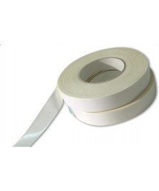Biadesivo a schiuma espansa bianco spess. mm. 1  - Conf. mm 19 x