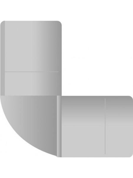 Connettore curva 90 gradi per Flexi neon - 5 pezzi