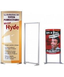 Totem pubblicitario Mister Hyde