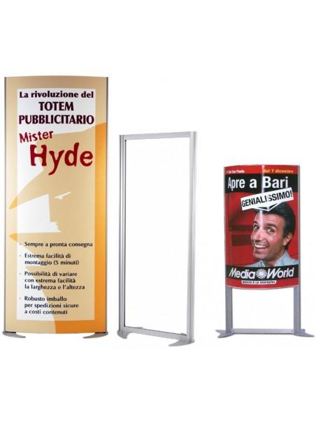 Totem pubblicitario Mister Hyde