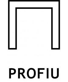 """Profilo per pannelli ad """"U"""" - barre da 3 mt."""