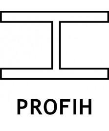 """Profilo per pannelli ad """"H"""" - Conf. di 10 barre da 3 mt."""