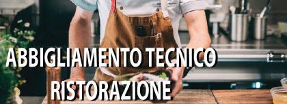 abbigliamento tecnico ristorazione
