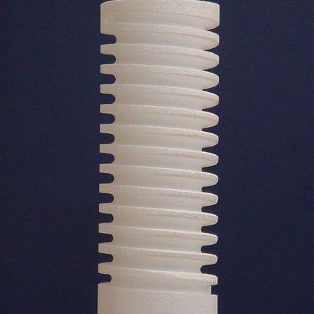 Taglierine a schiuma CNC a filo caldo - Esempio di taglio a schiuma - Spirale